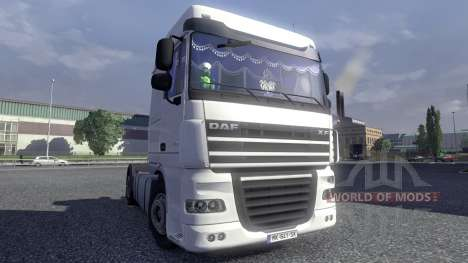 Interior for DAF XF for Euro Truck Simulator 2