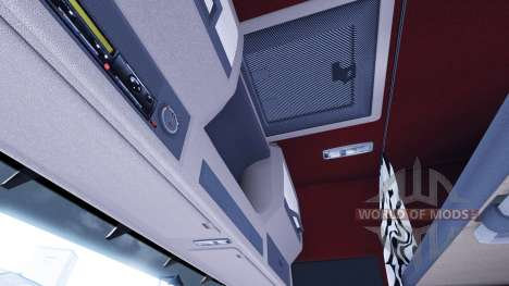 New interior for Volvo tagaca for Euro Truck Simulator 2