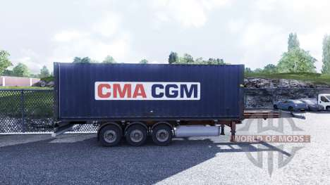 New color containerized cargo vol.3 for Euro Truck Simulator 2