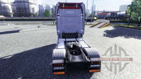 Color-R500 - truck Scania for Euro Truck Simulator 2