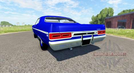 Plymouth Fury III 1969 for BeamNG Drive