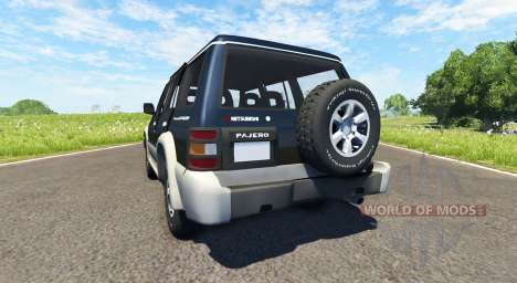 Mitsubishi Pajero 1993 for BeamNG Drive