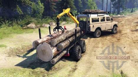 Land Rover Defender Series III v2.2 Sand for Spin Tires