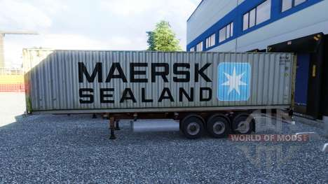 New color containerized cargo vol.2 for Euro Truck Simulator 2
