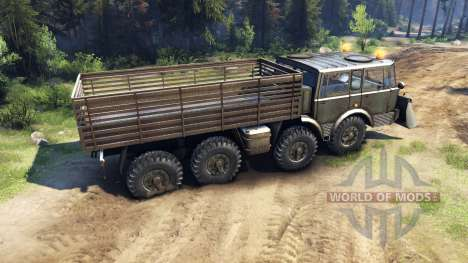 Tatra 813 8x8 KOLOS v1.1 for Spin Tires