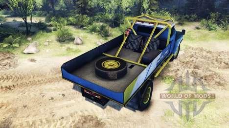 ЗиЛ-130 Rallycross for Spin Tires