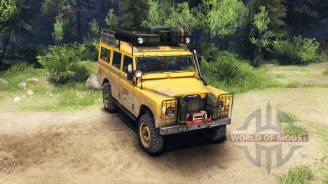 Land Rover Defender Series III v2.2 Camel Trophy for Spin Tires