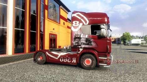 Color-R560 - truck Scania for Euro Truck Simulator 2