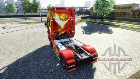 Color-Phoenix - on tractor Scania for Euro Truck Simulator 2