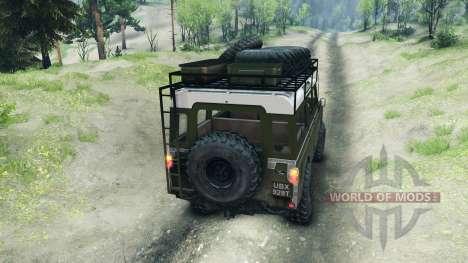 Land Rover Defender Series III v2.2 Olive for Spin Tires