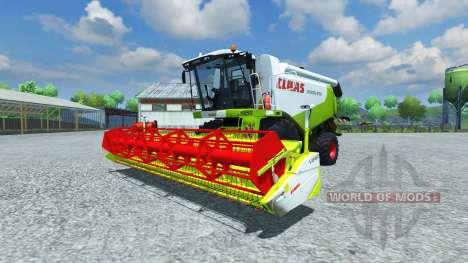 CLAAS Lexion 550 v2.5 for Farming Simulator 2013