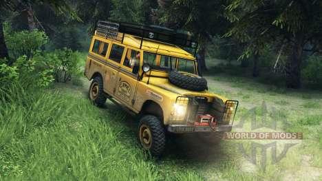 Land Rover Defender v2.2 Camel Trophy Siberia for Spin Tires