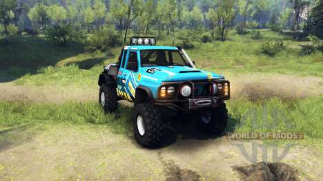 Nissan Patrol GQ for Spin Tires