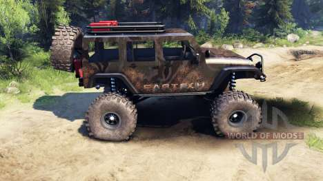Jeep Wrangler Unlimited SID Fabtech for Spin Tires