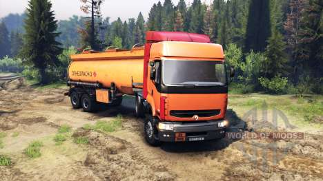 Renault Premium Orange for Spin Tires
