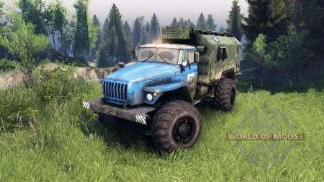 Ural-4320 PTS v1.5 for Spin Tires