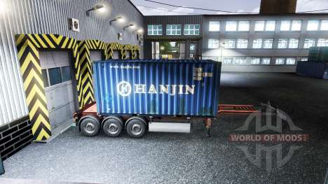 New color containerized cargo vol.1 for Euro Truck Simulator 2
