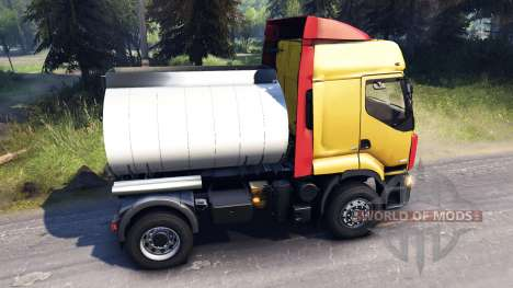 Renault Premium Yellow for Spin Tires