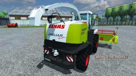 CLAAS Jaguar 900 Speedstar for Farming Simulator 2013