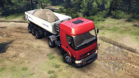 Renault Premium Red for Spin Tires