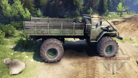 Ural-4320 Polar Explorer v1.2 for Spin Tires