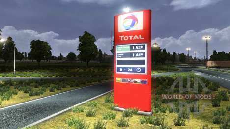Stations Total for Euro Truck Simulator 2