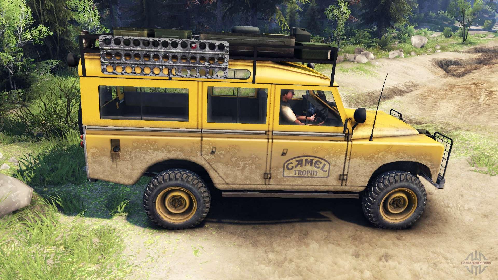 land rover defender series iii v2 2 camel trophy for spin tires. Black Bedroom Furniture Sets. Home Design Ideas