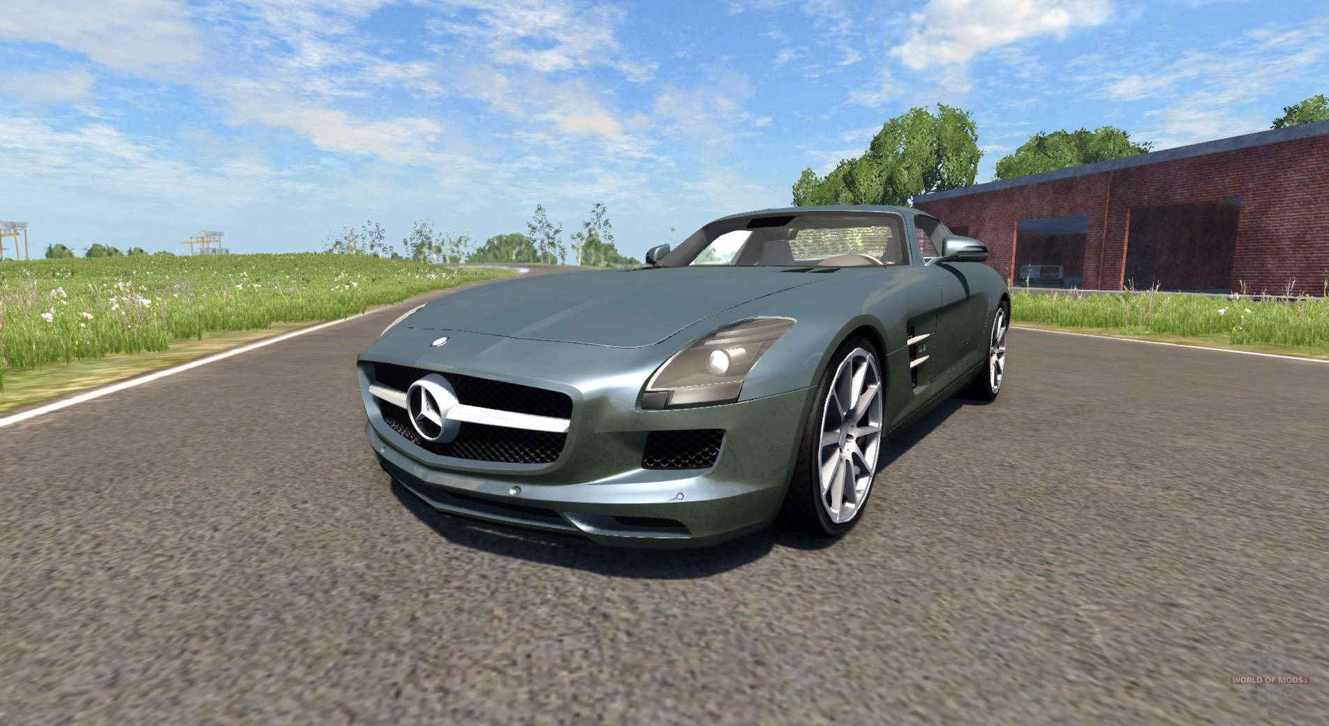 Dr Car: Mercedes-Benz SLS AMG For BeamNG Drive