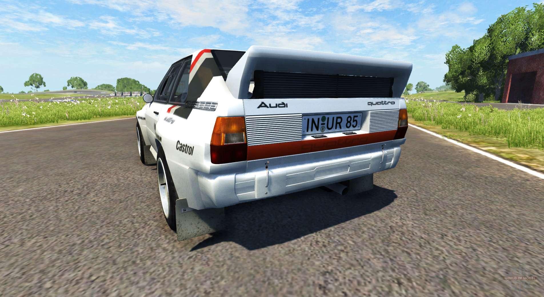 Best Awd Sports Cars >> Audi Sport Quattro B2 (Typ 85Q) 1984 for BeamNG Drive