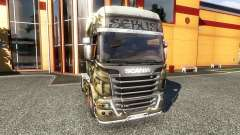 Color-Sebus Joker - on tractor Scania for Euro Truck Simulator 2