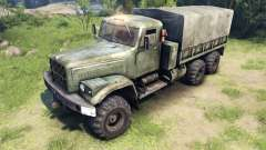 New textures for the wheels KrAZ-255