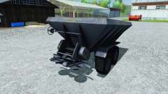 Fertilizer spreader APF-8B