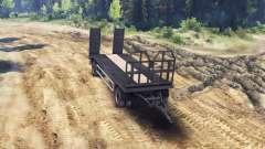 Trailer-tow truck MAN 19414