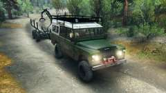 Land Rover Defender Series III v2.2 Green for Spin Tires