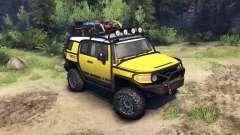 Toyota FJ Cruiser yellow
