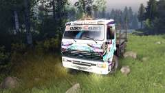 Color Hatsune Miku Racing for KAMAZ-6520