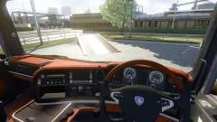 Interior for Scania-Wood-
