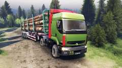 Renault Premium Green for Spin Tires