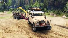 Land Rover Defender Series III v2.2 Sand