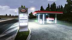 THE ESSO GAS STATION