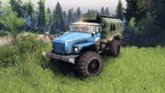 Ural-4320 PTS v1.5 for Spin Tires