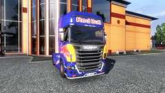 Color-Red Bull - truck Scania