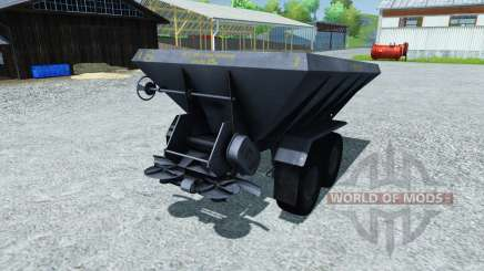 Fertilizer spreader APF-8B for Farming Simulator 2013