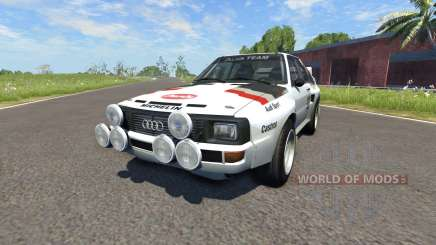 Audi Sport Quattro B2 (Typ 85Q) 1984 for BeamNG Drive
