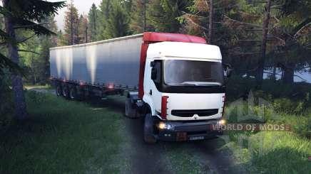 Renault Premium White for Spin Tires