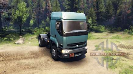 Renault Premium Air Force Blue for Spin Tires