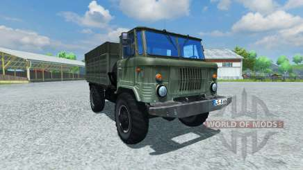 GAZ-66 for Farming Simulator 2013