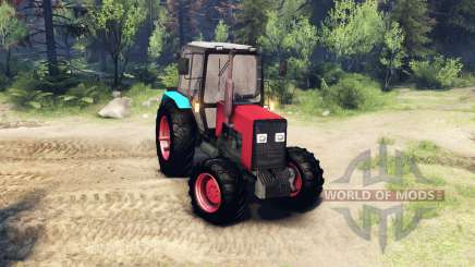 MTZ-1221 for Spin Tires