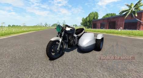 Ducati FRC-900 with a sidecar v4.0 for BeamNG Drive