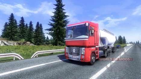 More AI traffic v2.0 for Euro Truck Simulator 2